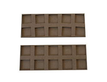 movement trays for skirmichers 25x25 mm