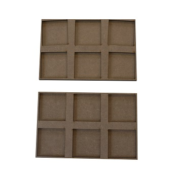 movement trays for skirmichers 40x40 mm